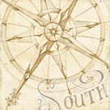Coast to Coast Sepia II Prints by Daphne Brissonnet