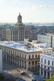 Rooftops of Havana Towards the Bacardi Building from the 9th Floor Restaurant of Hotel Seville Photographic Print by Lee Frost