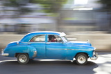 Panned' Shot of Old American Car to Capture Sense of Movement Photographic Print by Lee Frost