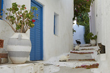 Hora, Serifos Island, Cyclades, Greek Islands, Greece, Europe Fotoprint van  Tuul