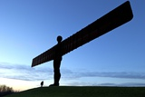 Angel of the North by Antony Gormley Photographic Print by Peter Barritt