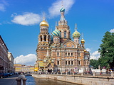 Church on Spilled Blood (Church of the Resurrection) Photographic Print by Gavin Hellier