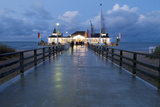 The Historic Pier in Ahlbeck on the Island of Usedom Photographic Print by Miles Ertman