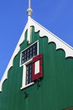 Preserved Historic House in Zaanse Schans Photographic Print by Amanda Hall