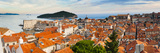 Dubrovnik Old Town and Lokrum Island from Dubrovnik City Walls Photographic Print by Matthew Williams-Ellis