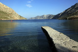 Jetty on the Secluded and Remote North Coast of Kalymnos Island Photographic Print by David Pickford