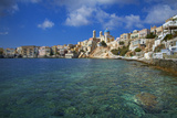Ermoupoli (Khora), Syros Island, Cyclades, Greek Islands, Greece, Europe Photographic Print by  Tuul