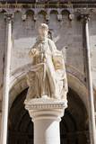 Statue of St. Lawrence Photographic Print by Matthew Williams-Ellis