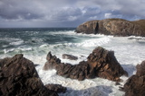 Heavy Seas Pounding the Rocky Coastline at Dalbeg Photographic Print by Lee Frost