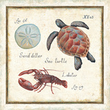Oceanography II Plakat autor Daphne Brissonnet