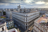 Rooftops of Havana During Late Afternoon Towards the Capitolio from the Bacardi Building Roof Photographic Print by Lee Frost