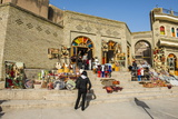 Kurdish Souvenirs for Sale Below the Citadel of Erbil (Hawler) Photographic Print by Michael Runkel