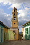 Belltower of the Convento De San Francisco De Asis Photographic Print by Lee Frost