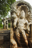 Guard Stone Showing Nagaraja (Cobra King) Photographic Print by Christian Kober