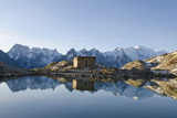 Lac Blanc, Mont Blanc and Aiguilles De Chamonix, Chamonix, Haute-Savoie, French Alps Photographic Print by Christian Kober