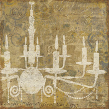 Faded Ornate I Gray Art by  Pela