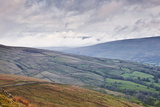 The Rolling Hills of the Yorkshire Dales National Park Near Dentdale Photographic Print by Julian Elliott