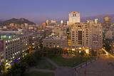 View across the Plaza De La Constitucion Photographic Print by Gavin Hellier