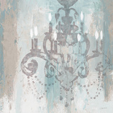 Candelabra Teal II Affiches par James Wiens