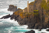 Abandoned Tin Mine Near Botallack Photographic Print by Miles Ertman