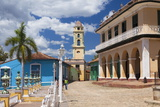View across Plaza Mayor Towards Museo Romantico Photographic Print by Lee Frost