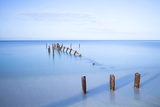 Old Jetty in the Caribbean Sea Photographic Print by Lee Frost