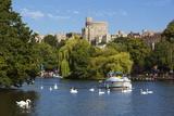 Windsor Castle and River Thames, Windsor, Berkshire, England, United Kingdom, Europe Photographie par Stuart Black