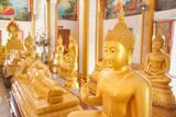 Statues, Karon Beach, Buddhist Temple, Phuket Island, Phuket, Thailand, Southeast Asia, Asia Photographic Print by Andrew Stewart