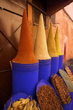 Spice Shop, Marrakech, Morocco, North Africa, Africa Photographic Print by Neil Farrin