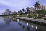 Skyline of West Palm Beach, Florida, United States of America, North America Photographic Print by Richard Cummins