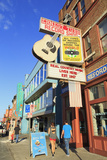 Music Store on Broadway Street, Nashville, Tennessee, United States of America, North America Photographic Print by Richard Cummins