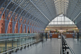 St. Pancras International Railway Station, London, England, United Kingdom, Europe Photographic Print by Julian Elliott