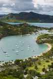 View over English Harbour, Antigua, Antigua and Barbuda, West Indies, Carribean, Central America Photographic Print by Michael Runkel