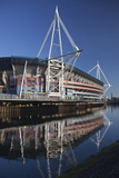 Millennium Stadium, Cardiff, Wales, United Kingdom, Europe Photographic Print by Billy Stock