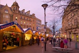 Christmas Market, Sheffield, South Yorkshire, Yorkshire, England, United Kingdom, Europe Photographic Print by Frank Fell