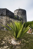 Old British Watch Tower in Barbuda, Antigua and Barbuda, West Indies, Caribbean, Central America Photographic Print by Michael Runkel
