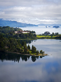 View over Nahuel Huapi Lake and Llao Llao Hotel Near Bariloche Photographic Print by Yadid Levy