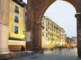 Piazza San Lorenzo, Milan, Lombardy, Italy, Europe Photographic Print by Christian Kober