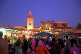 The Night Market, Jemaa El Fna Square, Marrakech, Morocco, North Africa, Africa Photographic Print by Neil Farrin