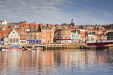 The Coastal Town of Whitby in the North York Moors, Yorkshire, England, United Kingdom, Europe Photographic Print by Julian Elliott