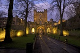Gatehouse, Durham Castle, University College, Durham, England, United Kingdom, Europe Photographic Print by Peter Barritt
