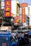 Traffic Congestion in China Town, Bangkok, Thailand, Southeast Asia, Asia Photographic Print by Lee Frost