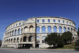 Pula Arena, a Roman Amphitheatre, Constructed from 27BC to 68Ad, Pula, Istria, Croatia, Europe Photographic Print by Stuart Forster