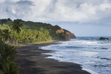 East Coast of Dominica, West Indies, Caribbean, Central America Photographic Print by Michael Runkel