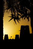 Al Jahili Fort at Sunset, Al Jahili Park, Al Ain, Abu Dhabi, United Arab Emirates, Middle East Photographic Print by Frank Fell