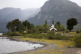 Landscape at Lago Paimun, Lanin National Park, Patagonia, Argentina, South America Photographic Print by Yadid Levy