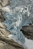 Briksdal Glacier (Briksdalsbreen), Western Josterdalsbreen, Olden, Norway, Scandinavia, Europe Photographic Print by Tony Waltham