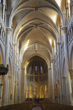 Interior of Lausanne Cathedral, Lausanne, Vaud, Switzerland, Europe Photographic Print by Ian Trower