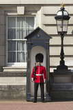 Grenadier Guardsman Outside Buckingham Palace, London, England, United Kingdom, Europe Photographie par Stuart Black