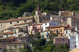 The Small Town of Maratea, on the Tyrrhenian Sea, Basilicata, Italy, Europe Photographic Print by Olivier Goujon